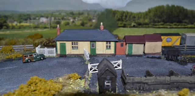 Smallford Station Model in Welwyn Garden City