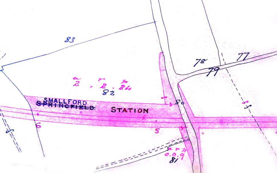 Smallford Station Map